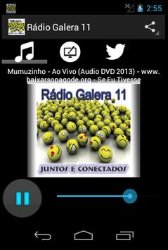 Rádio Galera 11 poster