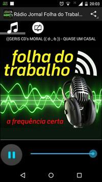 Rádio Jornal Folha do Trabalho poster