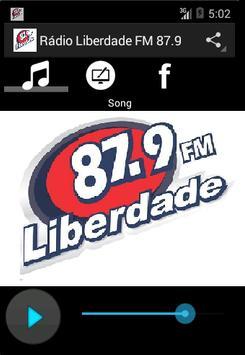 Rádio Liberdade FM 87.9 poster