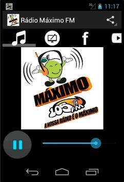 Rádio Máximo FM poster