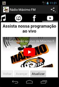 Rádio Máximo FM screenshot 11