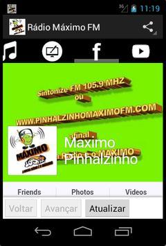 Rádio Máximo FM screenshot 2