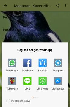 Masteran Kacer Hitam Juara apk screenshot
