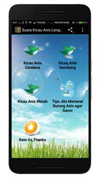 Suara Kicau Anis Lengkap poster