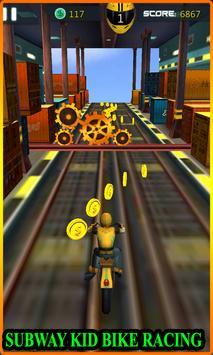 Subway Bike Racing poster