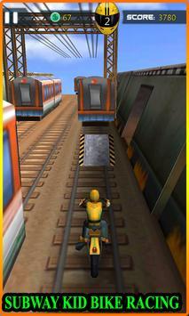 Subway Bike Racing screenshot 4