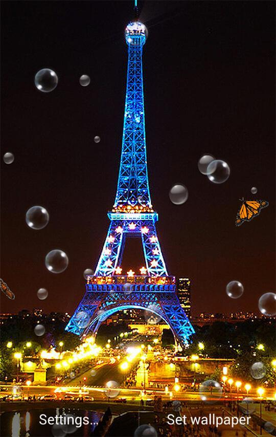 Paris Night Wallpaper For Android Apk Download