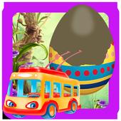 Surprise Eggs - Car Toys icon