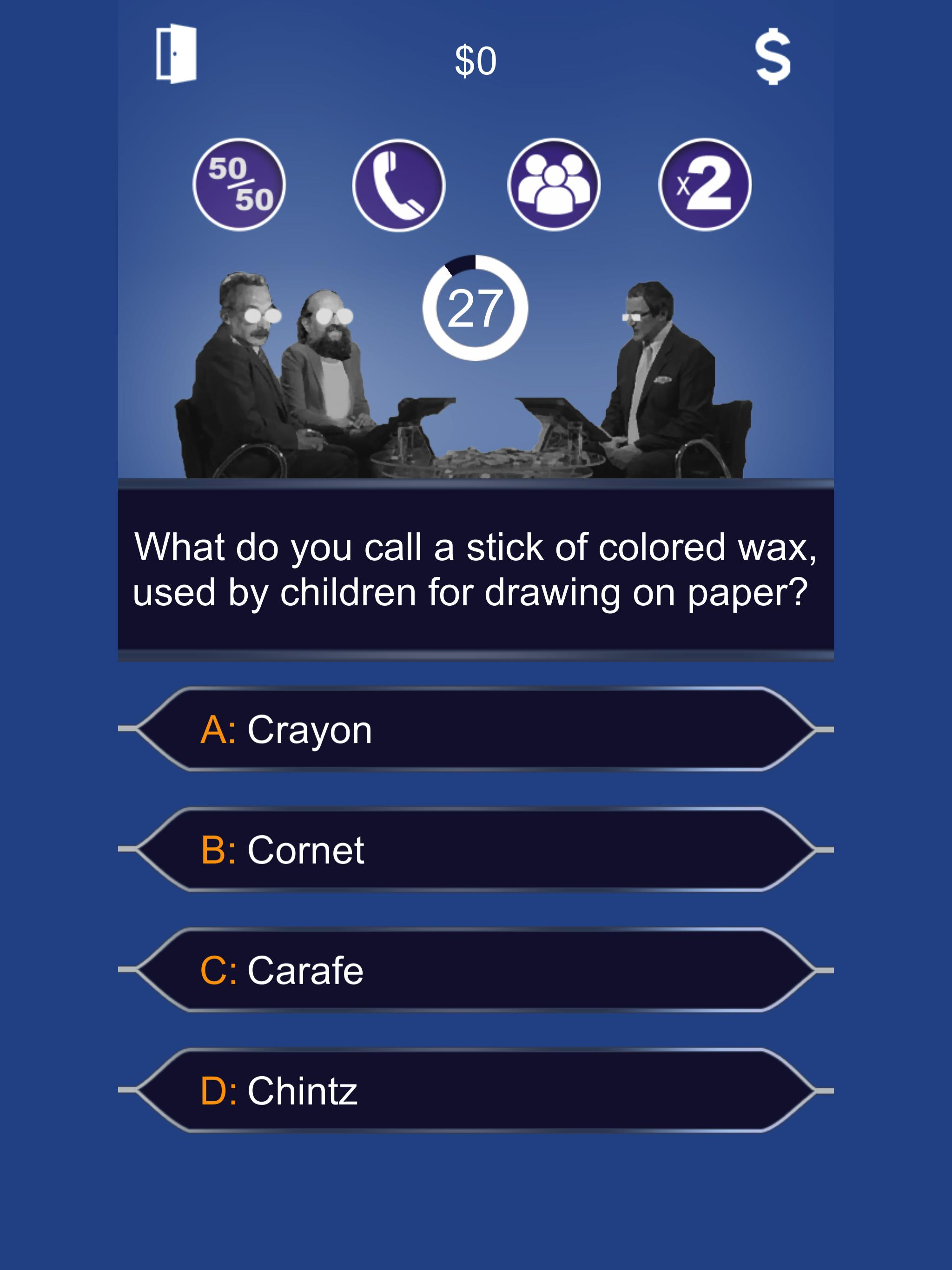 Millionaire 2018 - Lucky Quiz Free Game Online for Android