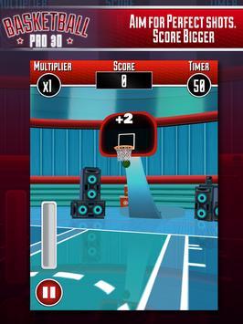Basketball Pro 3D apk screenshot