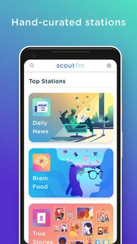 Scout FM poster