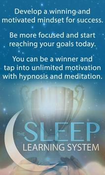 Motivation Sleep Learning poster
