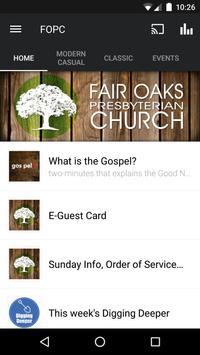 Fair Oaks Church App poster