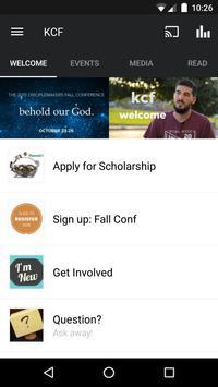 Kutztown Christian Fellowship poster