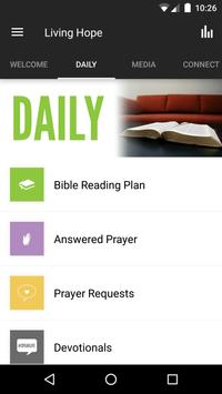 Living Hope Church Hamilton apk screenshot