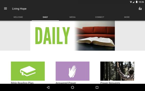 Living Hope Church Hamilton apk screenshot