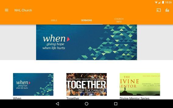 New Hope Leeward Church App apk screenshot