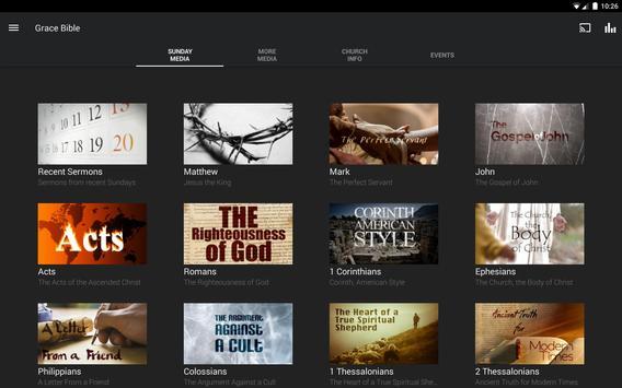 Grace Bible Church Bozeman apk screenshot