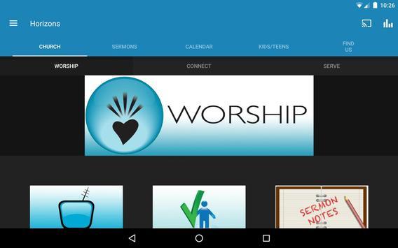 Horizons Church apk screenshot