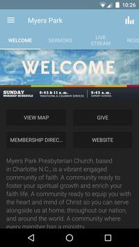 Myers Park Presbyterian Church poster