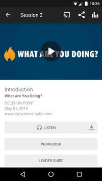 DECISION POINT - Catholic App screenshot 2