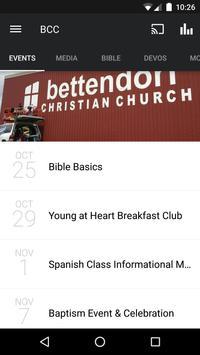 Bettendorf Christian Church poster