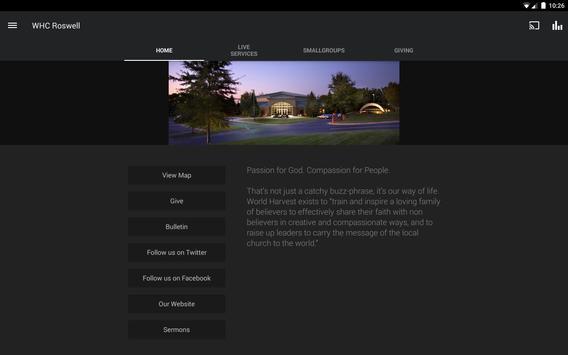 World Harvest Church - Roswell apk screenshot