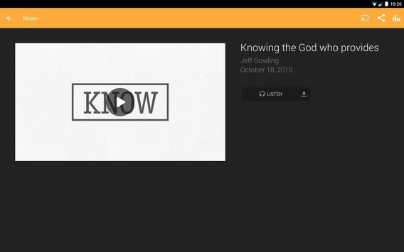 The Bridge Bible Church App apk screenshot