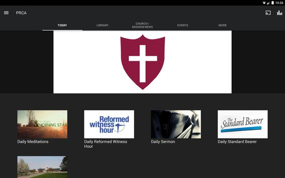 Protestant Reformed Churches Screenshot 3