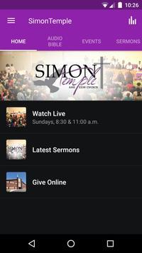 Simon Temple AMEZ Church poster
