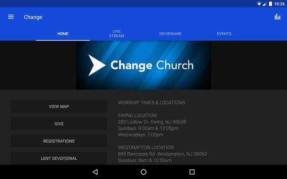 The Change Church apk screenshot