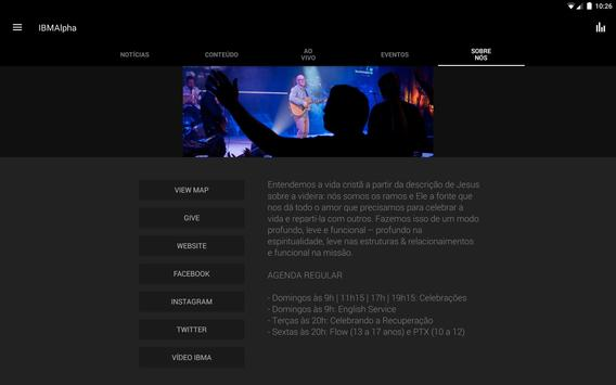 Igreja Batista M de Alphaville apk screenshot