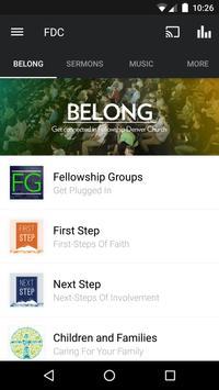 Fellowship Denver Church poster