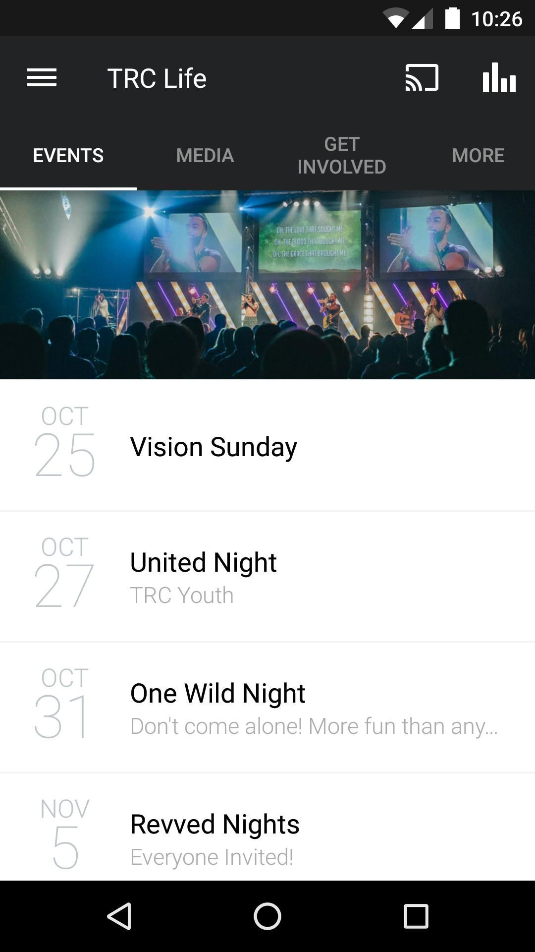 The Rock Church (trclife) poster