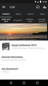 Calvary Chapel Bible Institute poster
