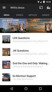 Witnesses for Jesus poster
