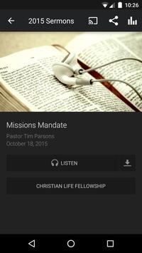 Christian Life Fellowship apk screenshot