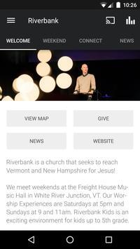 Riverbank Church App poster