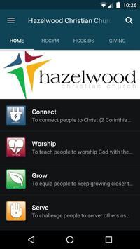 Hazelwood Christian Church poster