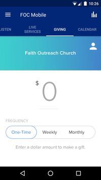 Faith Outreach Church screenshot 2