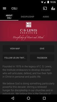 C.S. Lewis Institute poster