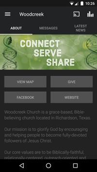 The Woodcreek App poster