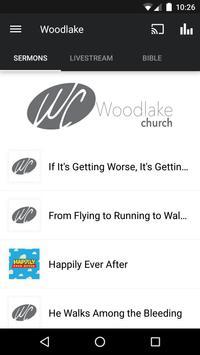 Woodlake Church poster