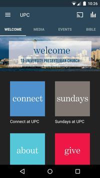 University Presbyterian Church poster