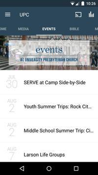 University Presbyterian Church apk screenshot
