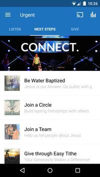 Urgent Church apk screenshot