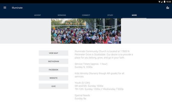 Illuminate Community Church apk screenshot