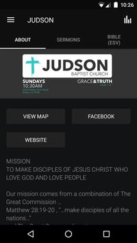 JUDSON CHURCH poster