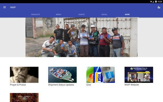 World Missionary Press apk screenshot
