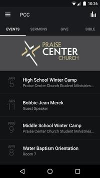 Praise Center Church poster